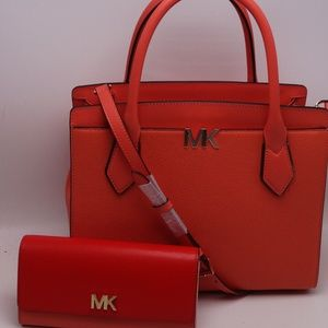 Michael Kors Montgomery Satchel/ Shoulder/Wallet